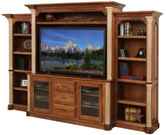 Rustic Home Entertainment Centers Ideas 19