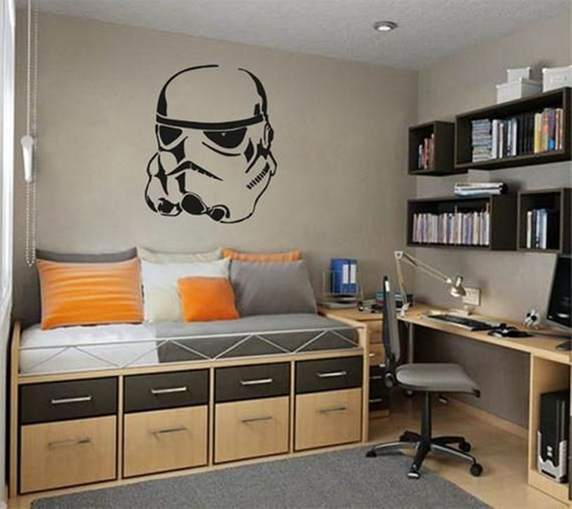 Smart Teenage Boy Room Decor Ideas 02