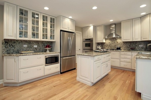 Awesome White And Clear Kitchen Design Ideas 20