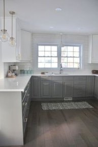 Awesome White And Clear Kitchen Design Ideas 25