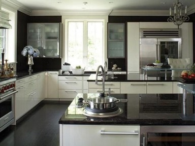 Awesome White And Clear Kitchen Design Ideas 28