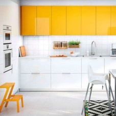 Awesome White And Clear Kitchen Design Ideas 33