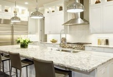 Awesome White And Clear Kitchen Design Ideas 37