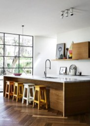 Awesome White And Clear Kitchen Design Ideas 42
