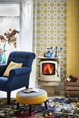 Comfy Retro Décor Ideas For Home This Winter 06