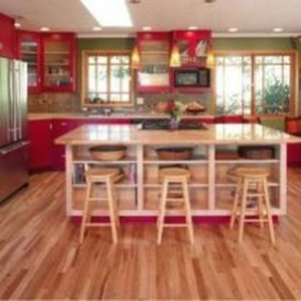 Cozy Red Kitchen Wall Decoration Ideas For You 23