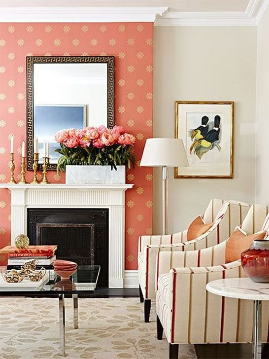 Fabulous Wallpaper Pattern Ideas With Focal Point To Your Space 17