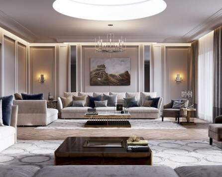 Fancy Family Room Design Ideas That Make You Cozy 27