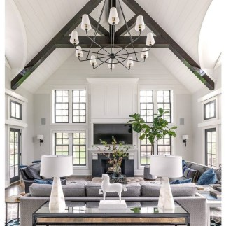 Fancy Family Room Design Ideas That Make You Cozy 45