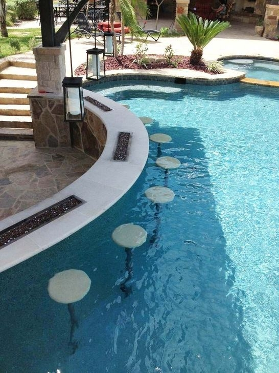 Glamorous Garden Design Ideas With Swimming Pools 15