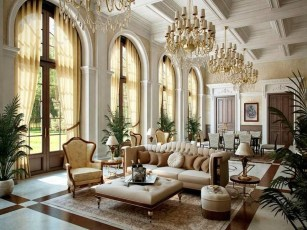 Inspiring French Living Room Decorating Ideas 09