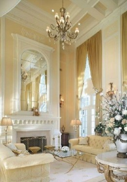Inspiring French Living Room Decorating Ideas 17