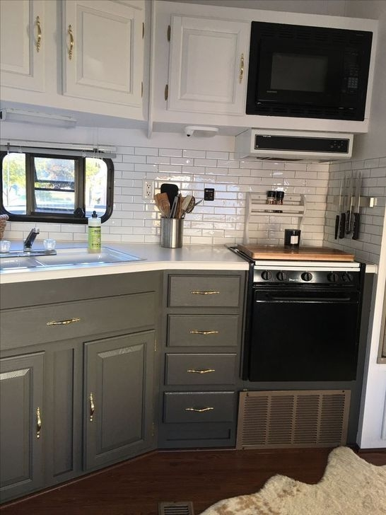 Inspiring Rv Kitchen Organization Ideas You Should Know 25