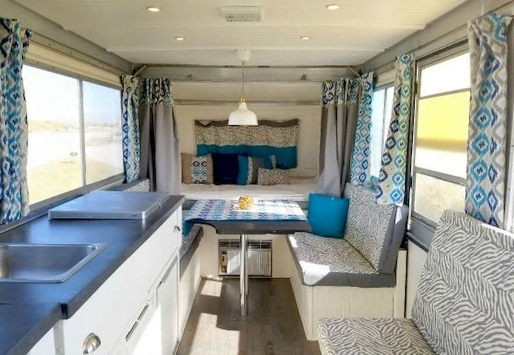 Popular Rv And Camper Hack Decoration Ideas For Family 46