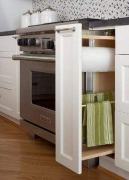 Pretty Hidden Storage Ideas For Kitchen Decor 42