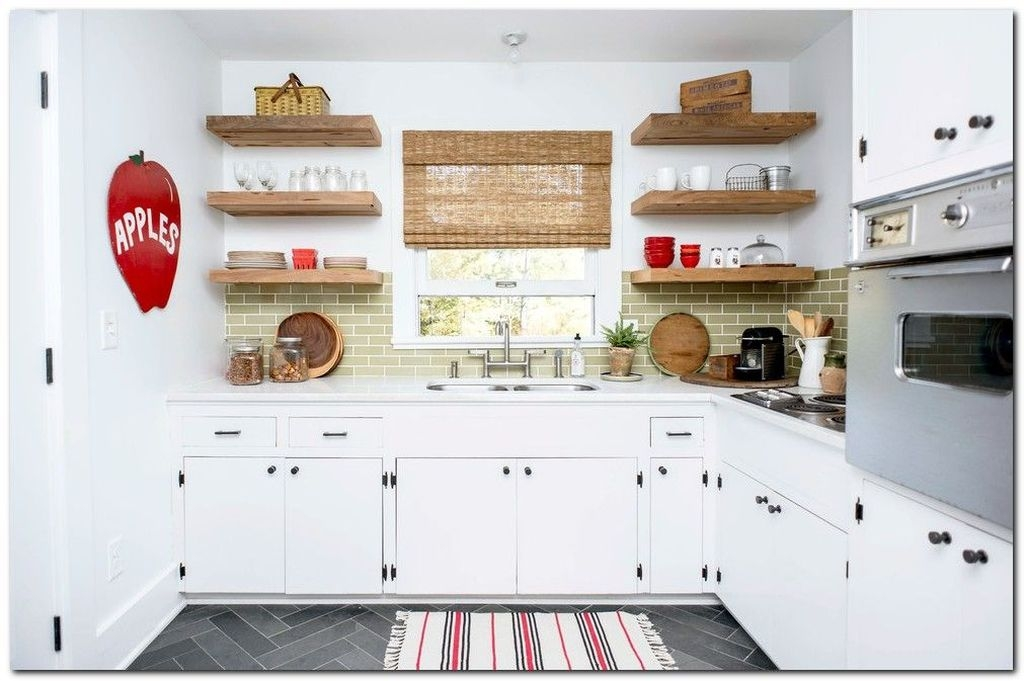 Trendy Kitchen Shelf Design Ideas For Small Room 03