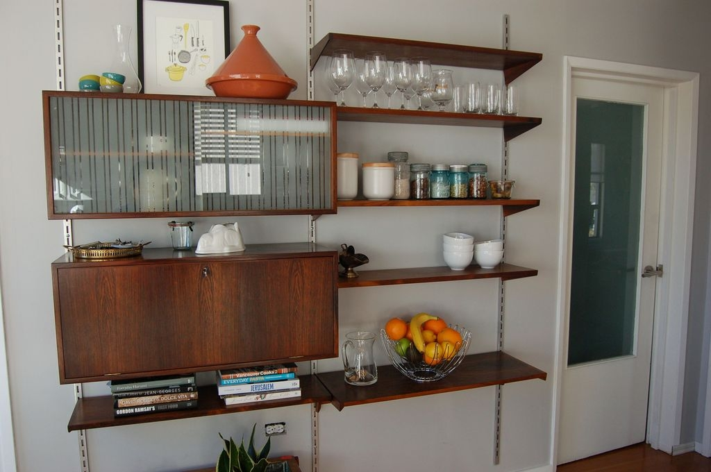 Trendy Kitchen Shelf Design Ideas For Small Room 30