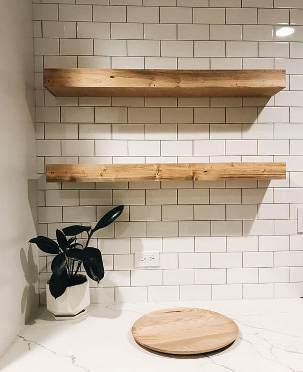 Trendy Kitchen Shelf Design Ideas For Small Room 31
