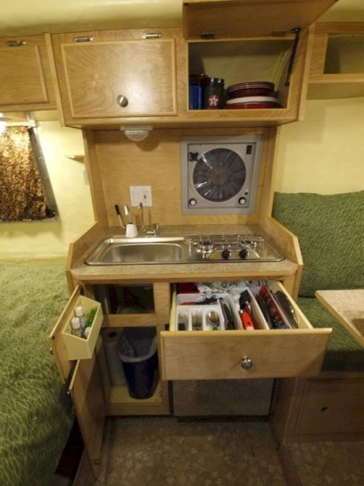 Classy Rv Camping Design Ideas For Summer Vacation 17