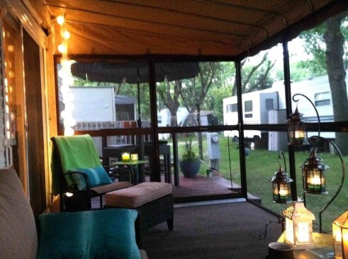 Classy Rv Camping Design Ideas For Summer Vacation 40