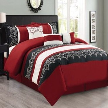 Comfy Red Bedroom Decorating Ideas For You 12