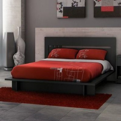 Comfy Red Bedroom Decorating Ideas For You 20