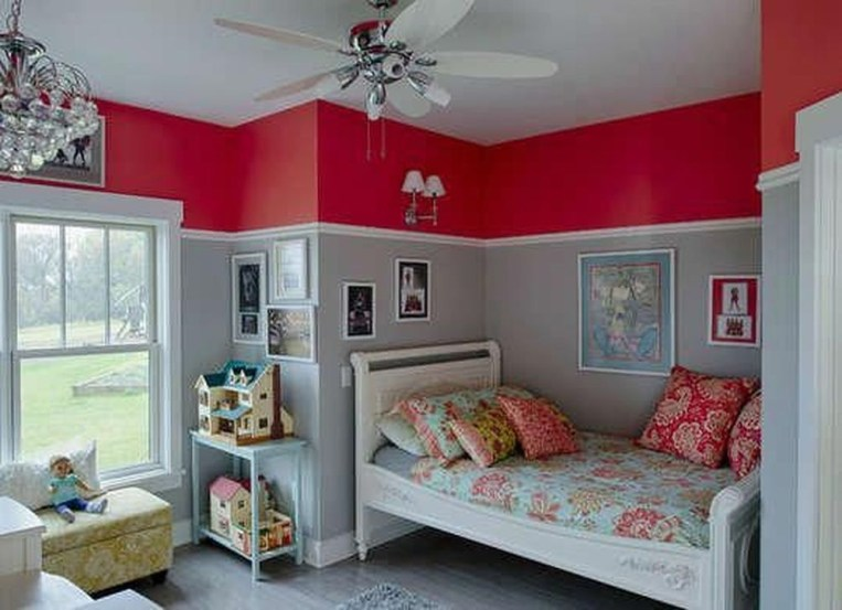 Comfy Red Bedroom Decorating Ideas For You 22