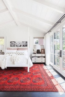 Comfy Red Bedroom Decorating Ideas For You 41