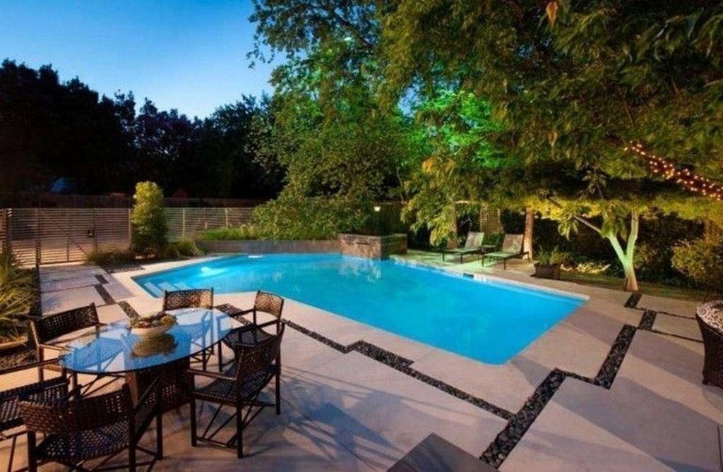 Creative Swimming Pools Design Ideas For Your Yard 40