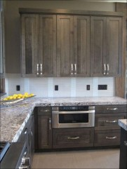 Fancy Painted Kitchen Cabinets Design Ideas With Two Tone 32