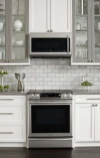 Fancy Painted Kitchen Cabinets Design Ideas With Two Tone 43