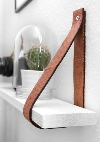 Fascinating Diy Wood And Leather Trellis Plant Ideas For Wall To Try 37
