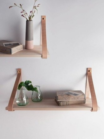 Fascinating Diy Wood And Leather Trellis Plant Ideas For Wall To Try 44