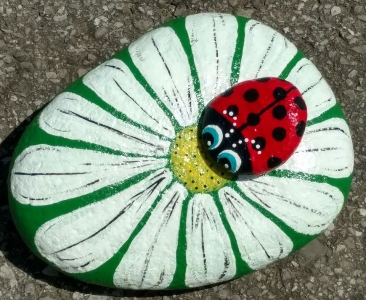 Glamour Diy Painted Rocks Animals Cats Ideas For Summer 39