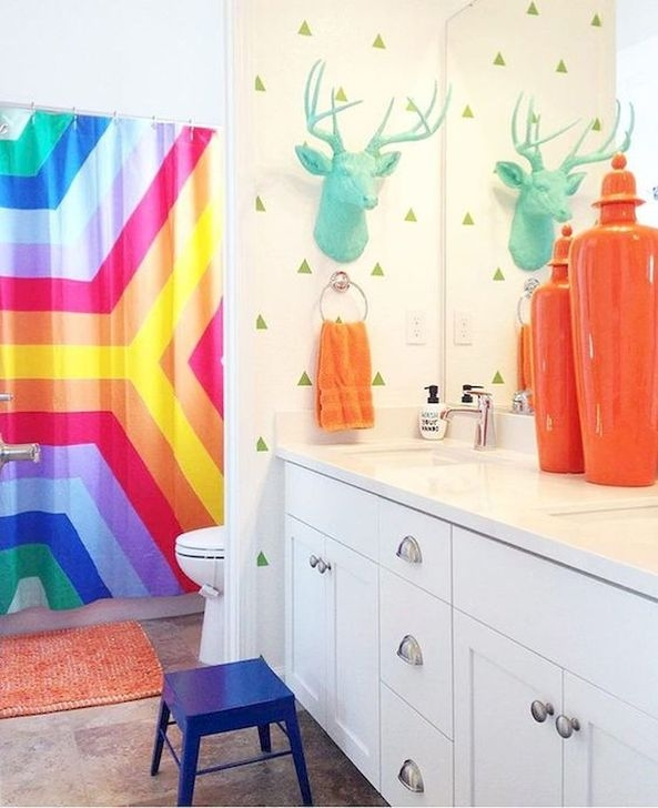 Luxury Colorful Apartment Décor And Remodel Ideas For Summer 34