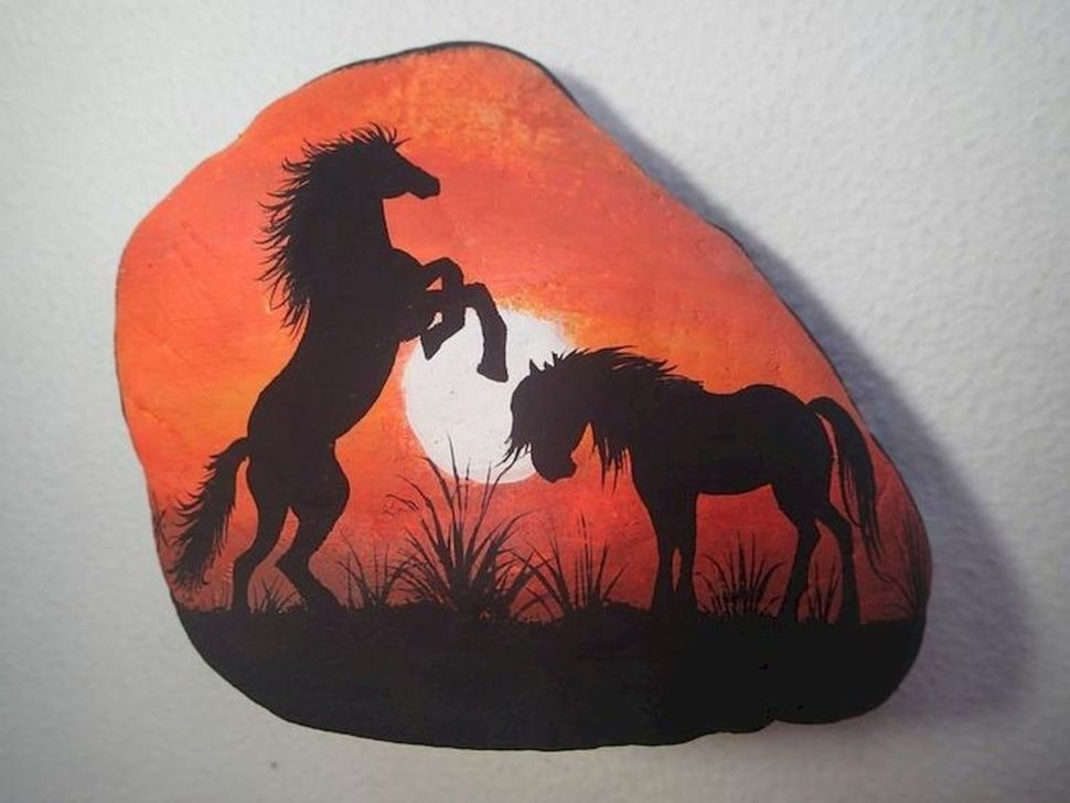 Marvelous Diy Projects Painted Rocks Animals Horse Ideas For Summer 29