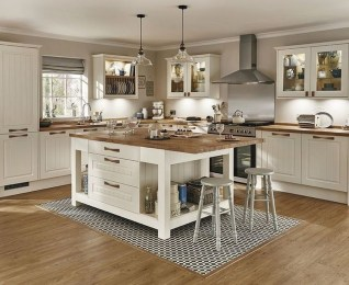 Rustic Wood Floor Ideas For Amazing Kitchen 21