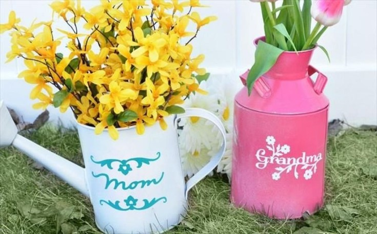 Splendid Diy Flower Vase Ideas To Add Beauty Into Your Home 12