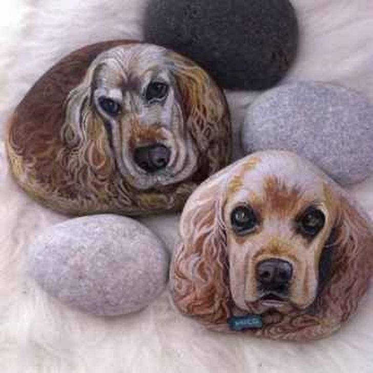 Splendid Diy Projects Painted Rocks Animals Dogs Ideas For Summer 02