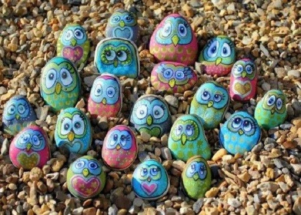 Splendid Diy Projects Painted Rocks Animals Dogs Ideas For Summer 13