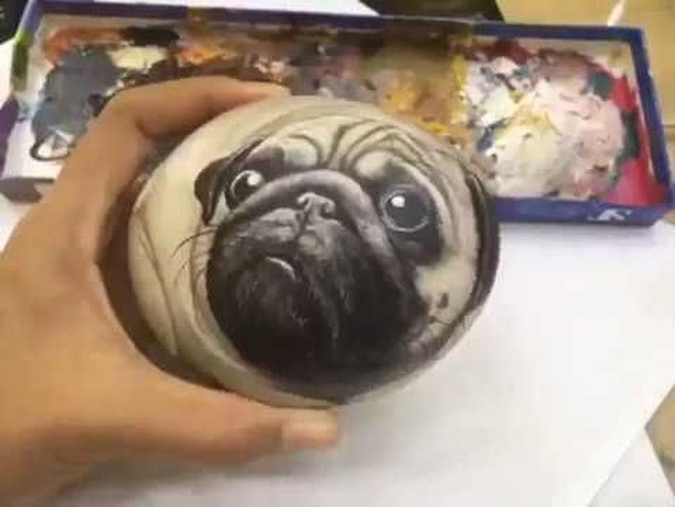 Splendid Diy Projects Painted Rocks Animals Dogs Ideas For Summer 17