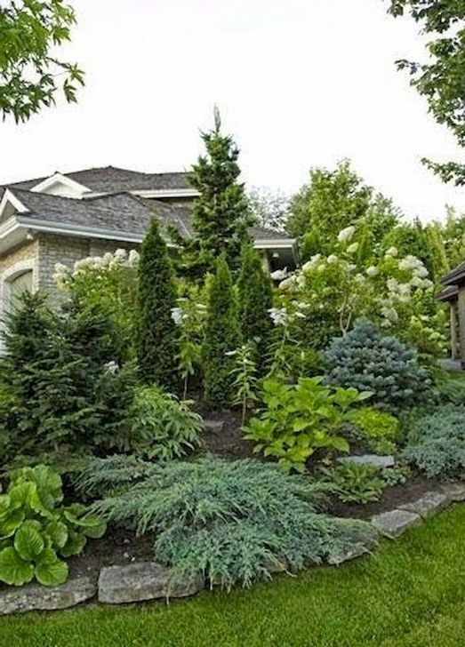 Unusual Front Yard Landscaping Design Ideas That Looks Great 07