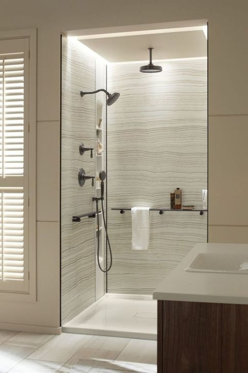 Amazing Shower Designs Ideas For Your Modern Bathroom 45