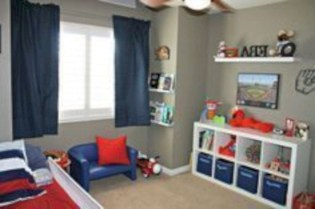 Comfy Small Bedroom Ideas For Your Son To Try 38