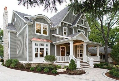 Fantastic Farmhouse Exterior Design Ideas That Looks Cool 28