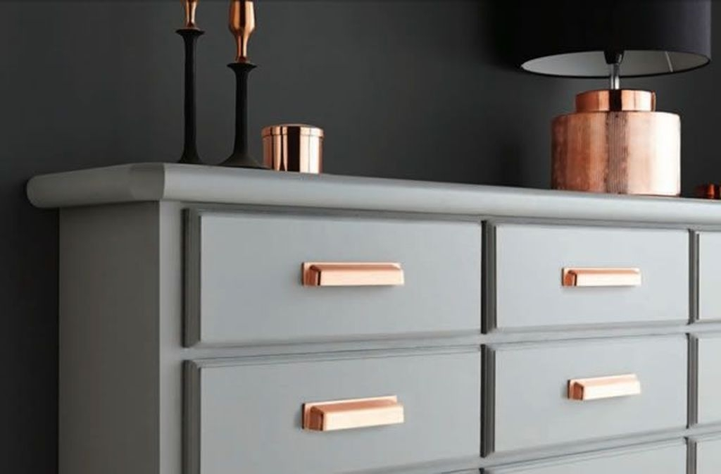 Hottest Copper Rose Gold Kitchen Themes Decorations Ideas 32