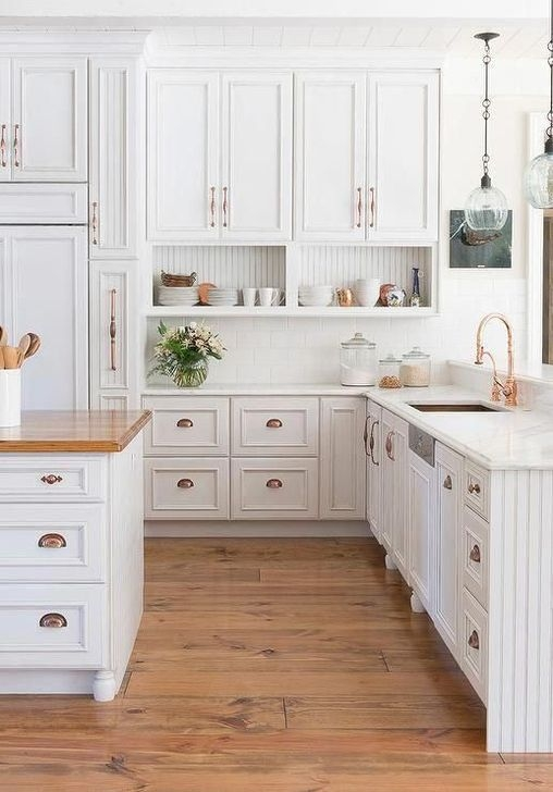Hottest Copper Rose Gold Kitchen Themes Decorations Ideas 38
