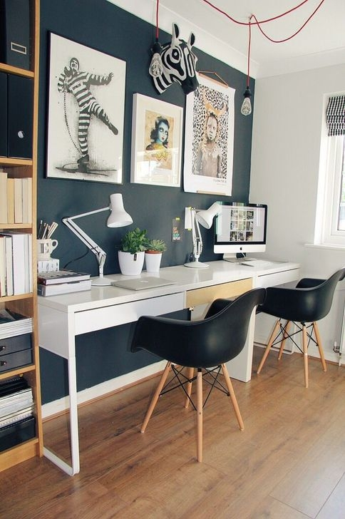 Outstanding Mini Office Design Ideas In The Living Room 03