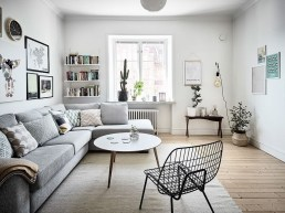 Outstanding Mini Office Design Ideas In The Living Room 13