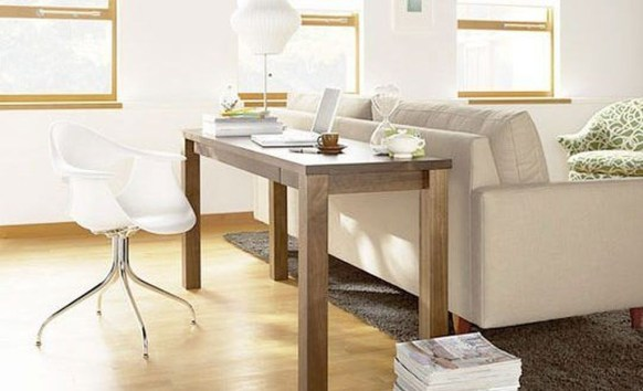 Outstanding Mini Office Design Ideas In The Living Room 35